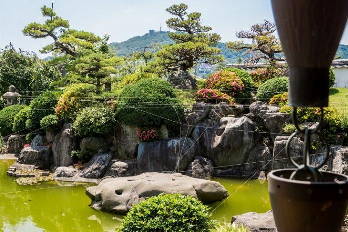 福済寺(長崎市筑後町)、庭園