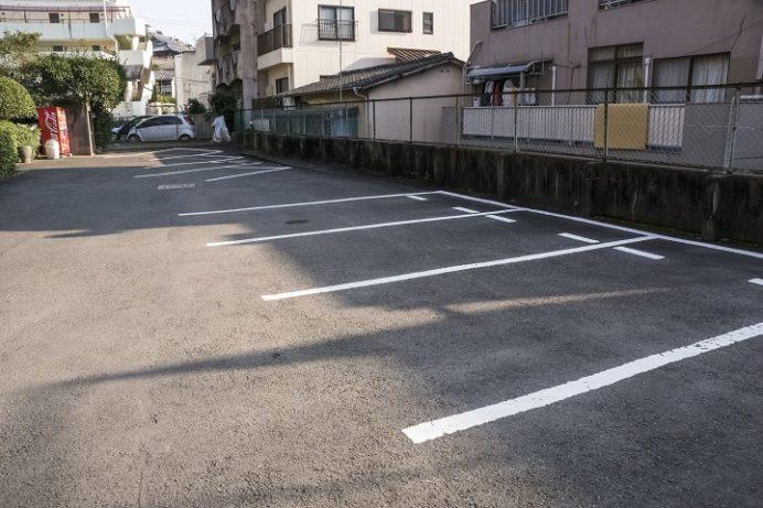 崇福寺(長崎市鍛冶屋町)の駐車場