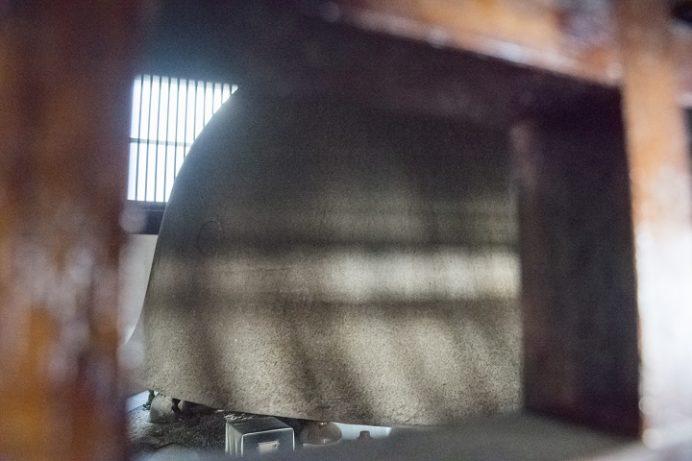 福済寺(長崎市筑後町)、鉄兜の慰霊碑