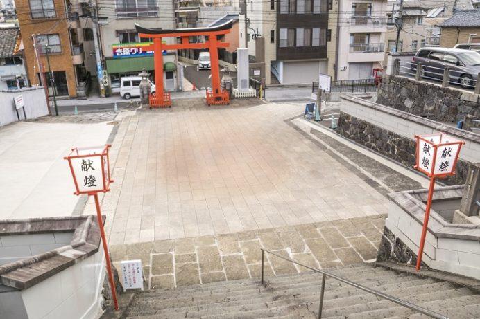 八坂神社(長崎市鍛冶屋町)