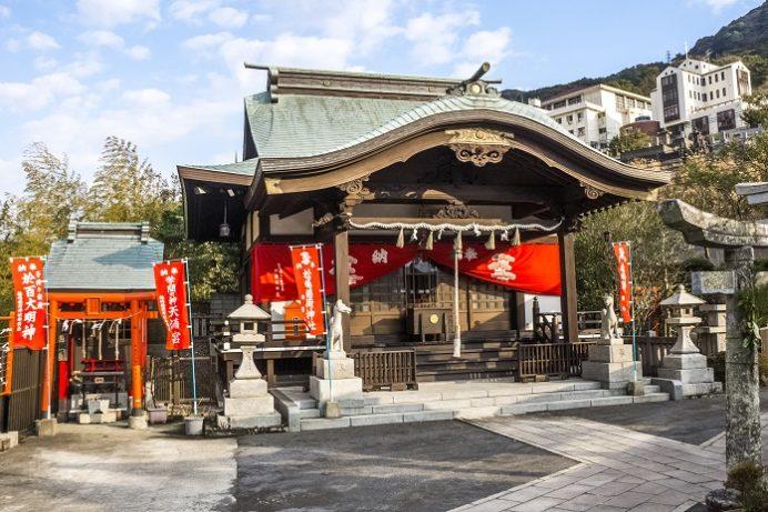 松嶋稲荷神社(長崎市本川内)、初詣