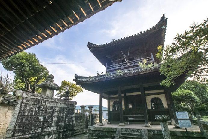 万寿山 聖福寺(長崎市玉園町)、鐘楼・聖福寺の梵鐘 (市指定有形文化財)
