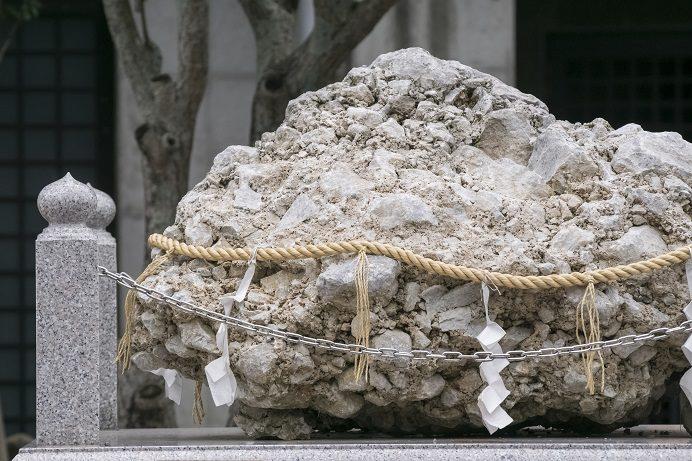 鎮西大社 諏訪神社(長崎市上西山町)のさざれ石