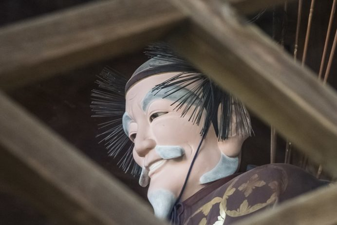 鎮西大社 諏訪神社(長崎市上西山町)、随身(神像)