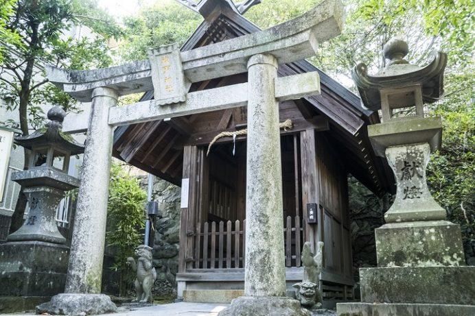 鎮西大社 諏訪神社(長崎市上西山町)の祓戸神社