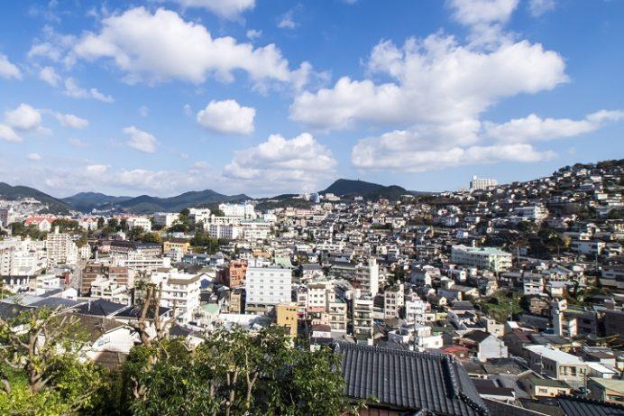 大浦展望公園からの風景