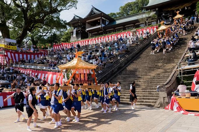 長崎くんち、鎮西大社 諏訪神社