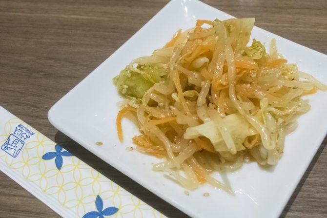 麺也オールウェイズ(長崎市)のもりもり野菜