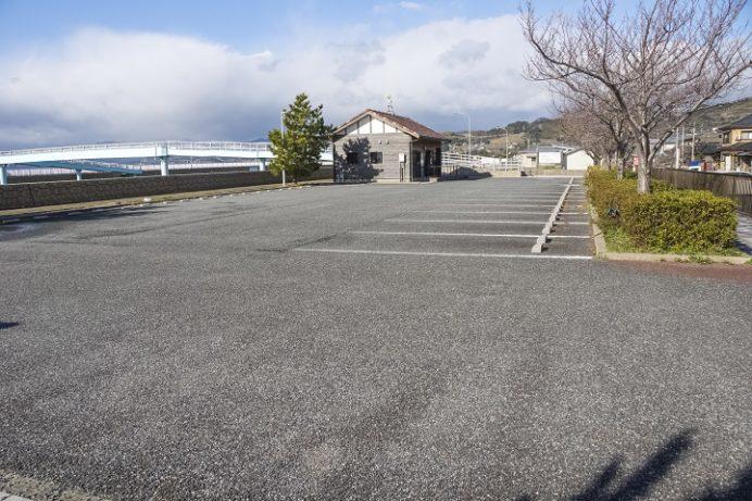 長崎街道松原宿ひな祭り(大村市)、旧松原旅館の駐車場