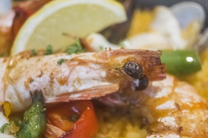 地中海料理エルマーソ(長崎県佐世保市ハウステンボス)のパエリア