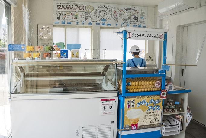 前田冷菓(長崎市田中町)、ちりんちりんアイス