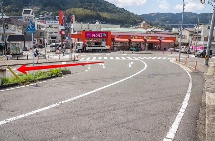 カフェハマツ 東長崎(長崎市田中町)へのアクセス