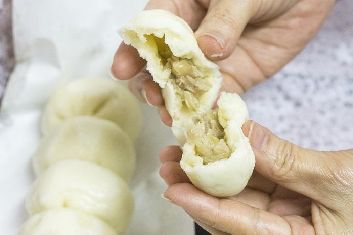 桃太呂の長崎ぶたまん(豚まん、肉まん)