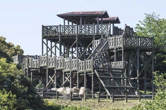 西海橋公園(長崎県西海市・佐世保市針尾)のアスレチック