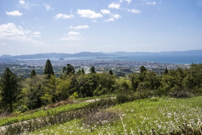 鉢巻山(長崎県大村市)からの絶景