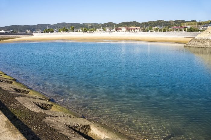 有喜UKIビーチ(諫早市松里町の海水浴場