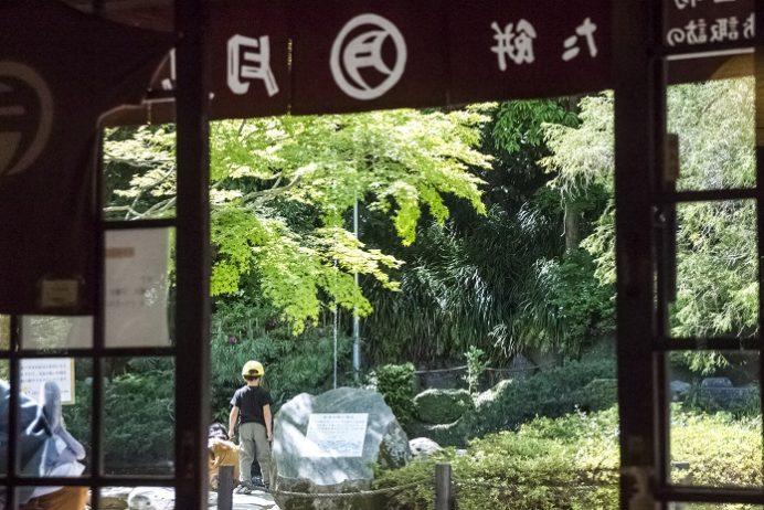 月見茶屋(長崎市上西山町、長崎公園内)