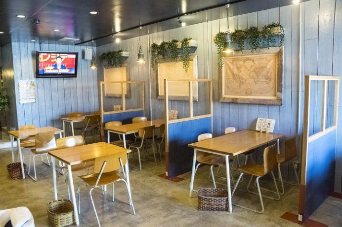 石窯ピザ&ダイニング LIBEROcafe (リベロカフェ)、諫早市小川町、ピザの店