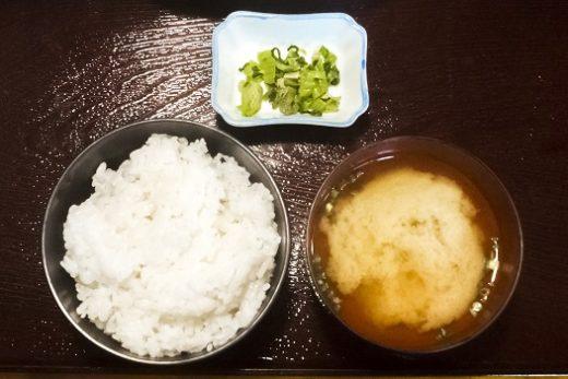 お食事の店 萬福の松定食(刺身食べ放題)