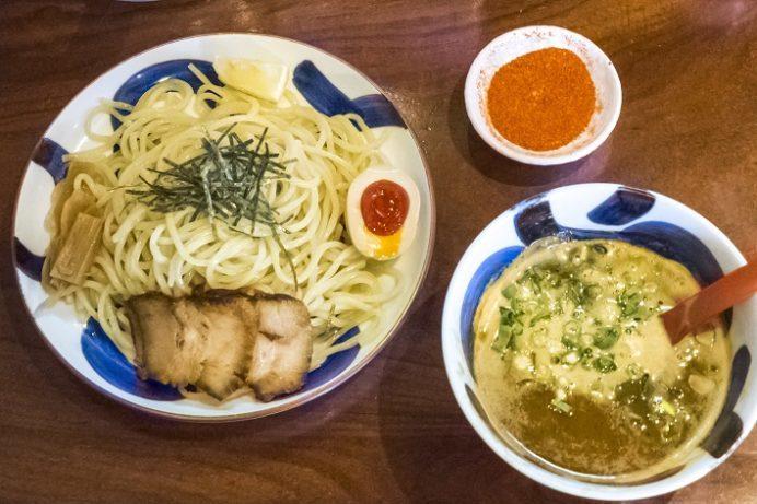 麺也オールウェイズ(長崎市)の辛つけ麺
