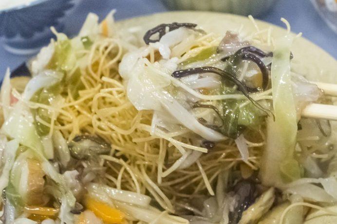 China kitchen VAN(長崎市目覚町、浜口地区)、小皿中華、皿うどん
