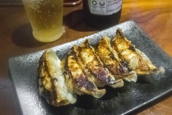 麺也オールウェイズ(長崎市)の黒豚餃子