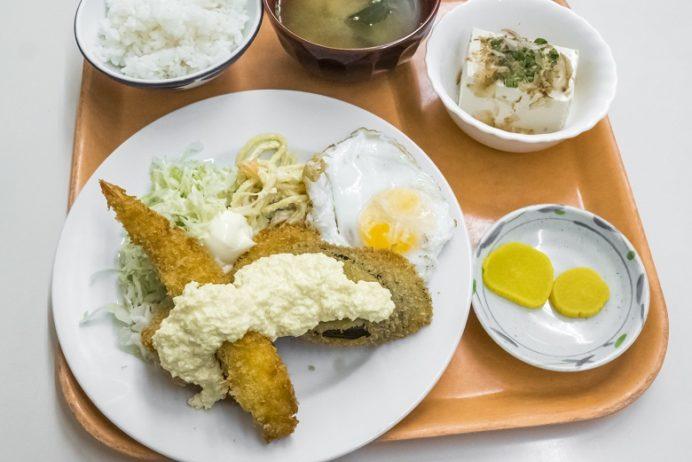 水産食堂(長崎市京泊)の日替わり定食