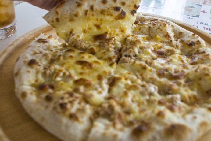 パンチピザ(PUNCH PIZZA)、雲仙市国見町のツナマヨコーン