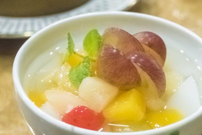 中国料理 群来軒(長崎市江戸町)、杏仁豆腐