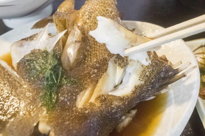 水産食堂(長崎市京泊)の煮魚定食