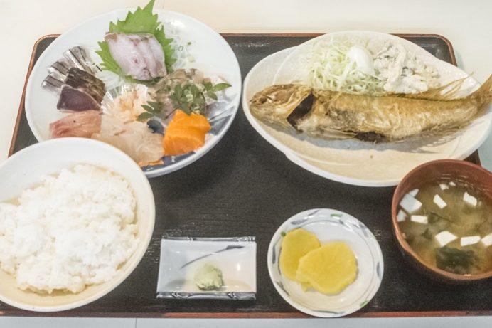 水産食堂(長崎市京泊)の刺身定食