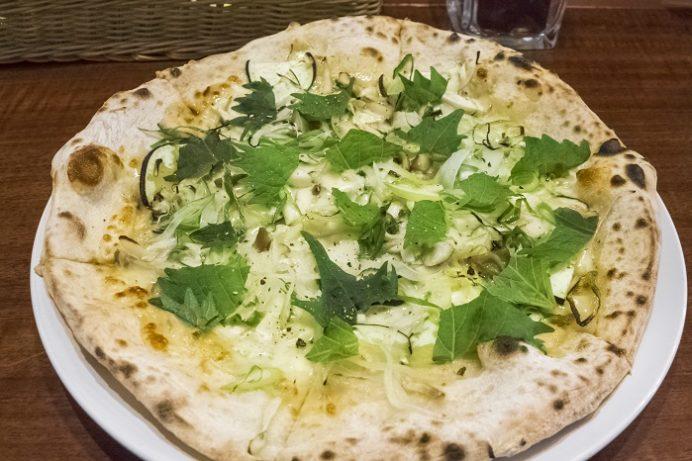 SASEBOピザ食堂(佐世保市浜田町)の色んな野菜の味噌ピザ