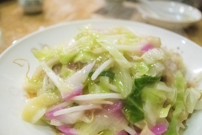 中国料理 群来軒(長崎市江戸町)、皿うどん