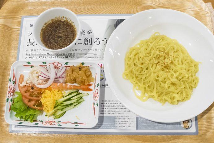 長崎県庁レストラン シェ・デジマの冷やし中華