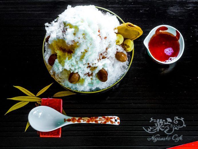菜~さい~ Nagasaki Cafe(佐世保市広田町)のかき氷