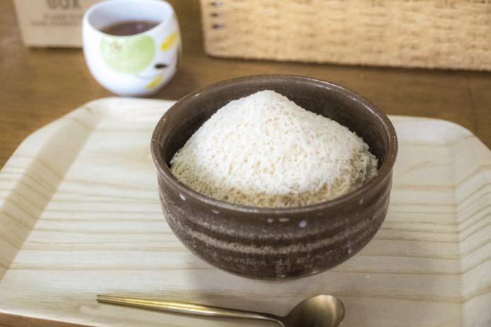 のんこ茶房(波佐見町)カフェのかき氷