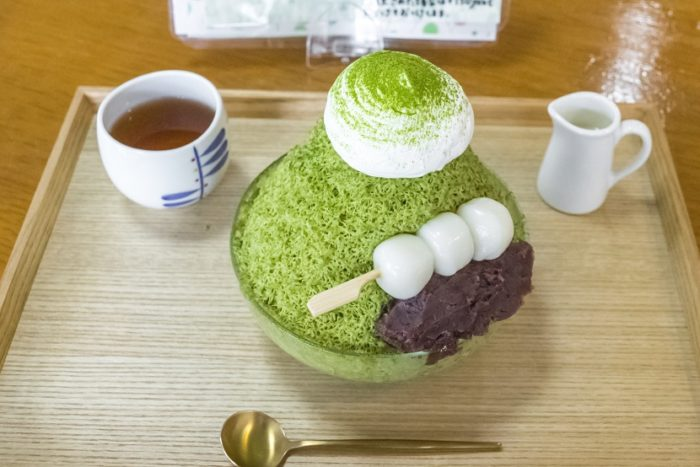 のんこ茶房(波佐見町)【流行最先端「糸ピンスかき氷」】
