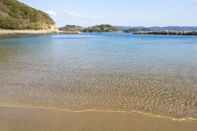 大釜海水浴場(西海市大島町)