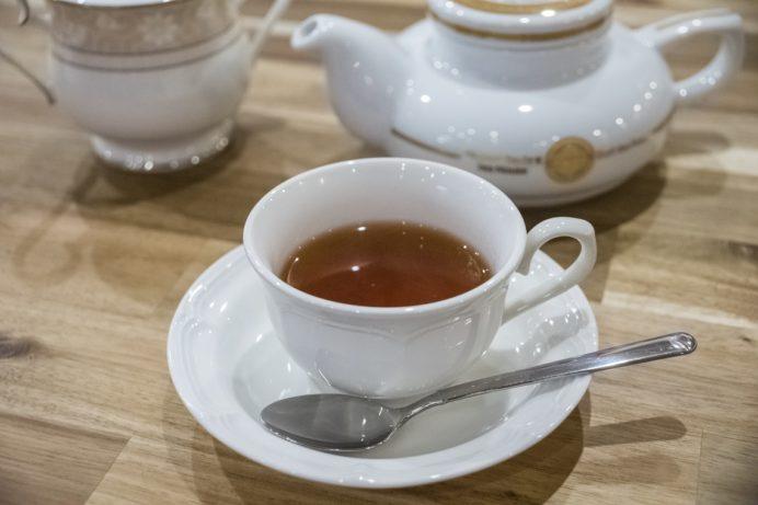 Cafe たからや(長崎県長崎市松山町)の紅茶