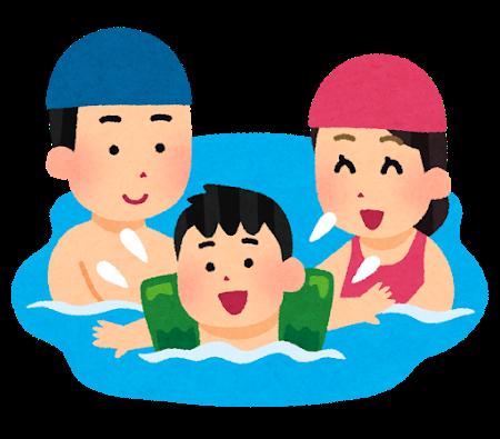 水泳、イラスト