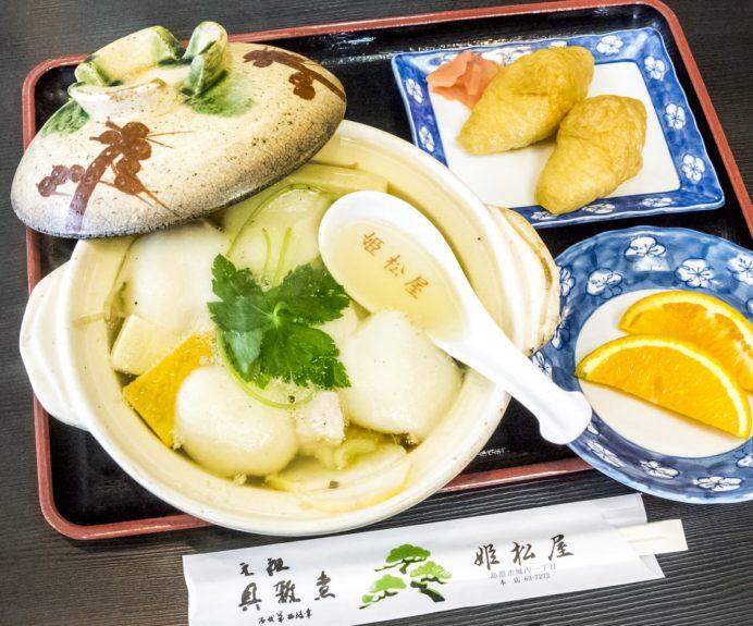 姫松屋本店(島原市城内)の具雑煮