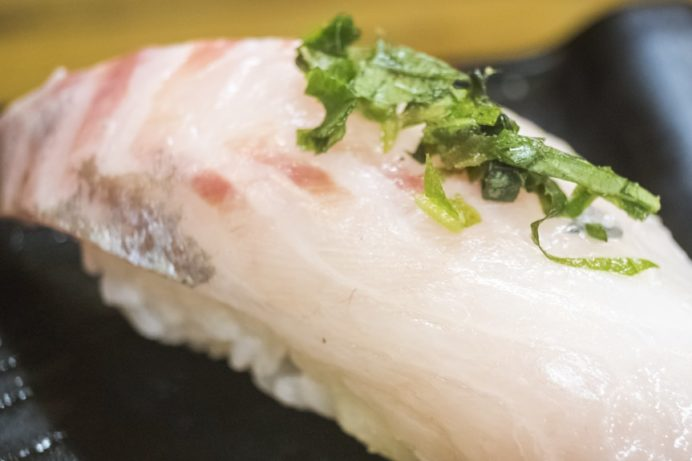寿司・割烹 かつらの寿司定食(長崎市桜馬場)、新大工地区