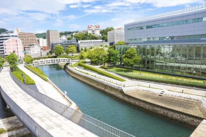 長崎県美術館 屋上庭園(長崎市出島町)