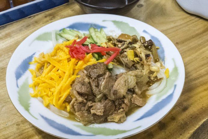 さぬきうどん大平(長与町三根郷)のビビンバ冷麺