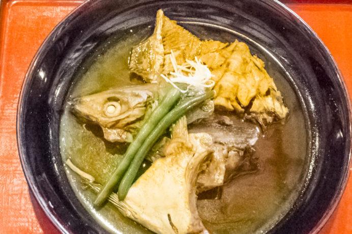 漁人市場とっとっと食堂(島原市湊新地町)のあら炊き