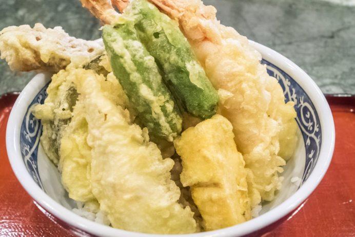 漁人市場とっとっと食堂(島原市湊新地町)、海老天丼