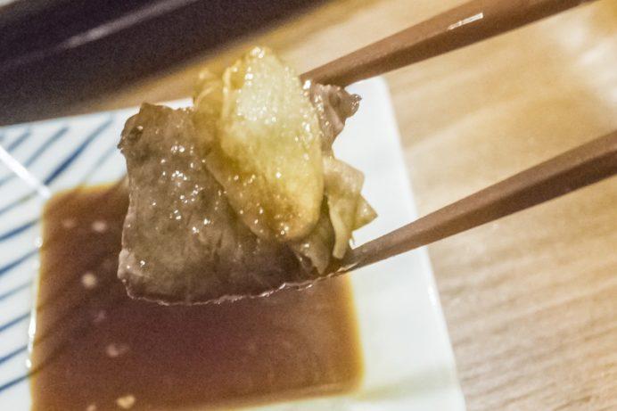 バラモン食堂(長崎市万屋町)、五島うどん居酒屋の五島牛サイコロステーキ定食
