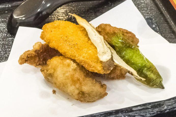 漁師飯なかざき(長崎市茂木町)のふぐ三昧セット