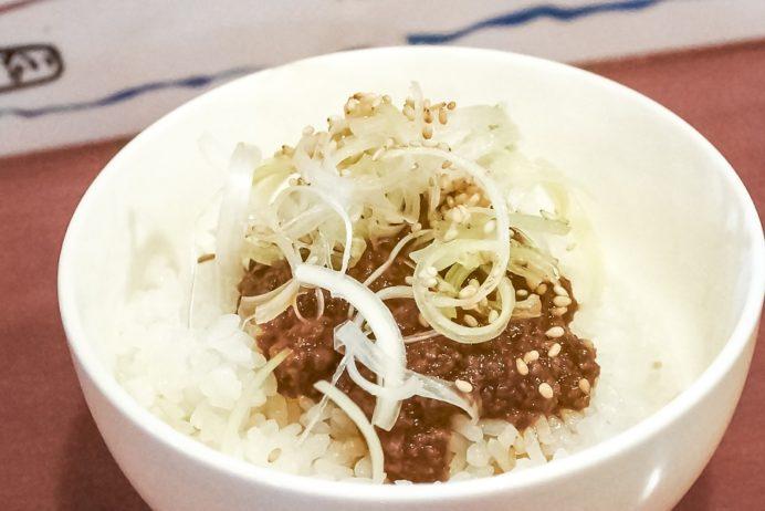 大丈夫屋 紅蘭亭(諫早市鷲崎町)、担々麵の名店の黒飯