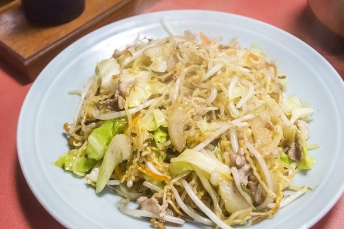 中華料理 永楽苑(長崎市江戸町)の上海やきそば
